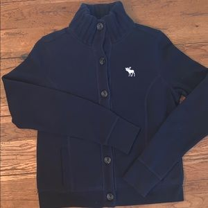 Abercrombie and Fitch Button Sweater